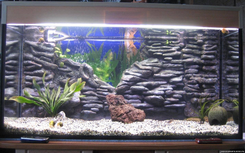 Как украсить аквариум своими руками 2